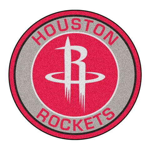 Houston Rockets Team Emblem Throw Rug