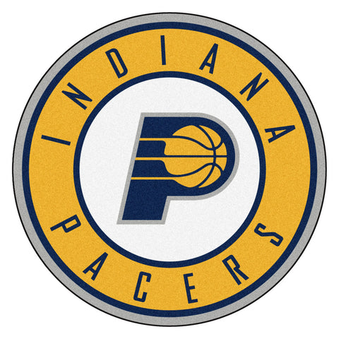 Indiana Pacers Team Emblem Throw Rug