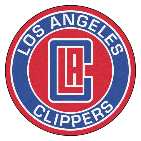 Los Angeles Clippers Team Emblem Throw Rug