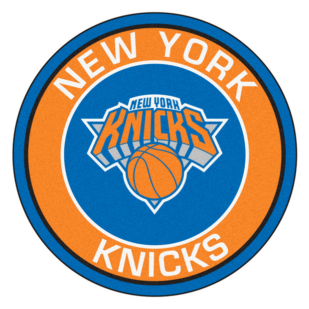 New York Knicks Team Emblem Throw Rug