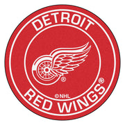 Detroit Red Wings Team Emblem Throw Rug