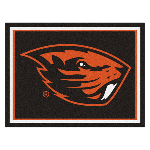 Oregon State Beavers 8x10 Plush Area Rug