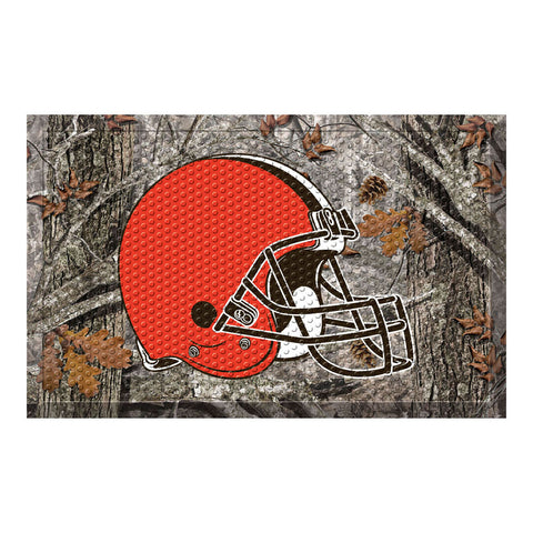 Cleveland Browns Camo Entry Floor Mat