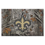New Orleans Saints Camo Entry Floor Mat