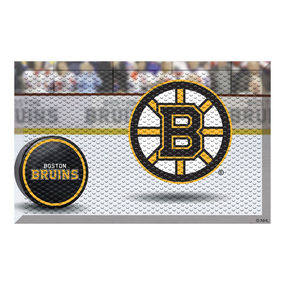 Boston Bruins Home Floor Mat
