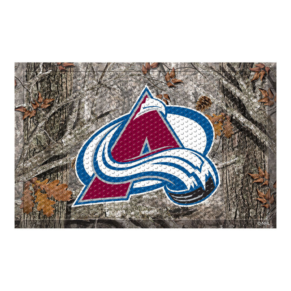 Colorado Avalanche Camo Entry Floor Mat