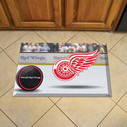 Detroit Red Wings Home Floor Mat on Floor