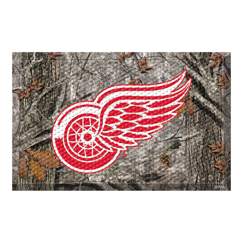 Detroit Red Wings Camo Entry Floor Mat