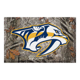 Nashville Predators Camo Entry Floor Mat