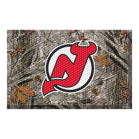 New Jersey Devils Camo Entry Floor Mat