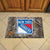 New York Rangers Camo Entry Floor Mat on Floor