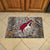 Arizona Coyotes Camo Entry Floor Mat on Floor