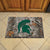 Michigan State Spartans Camo Entry Floor Mat on Floor
