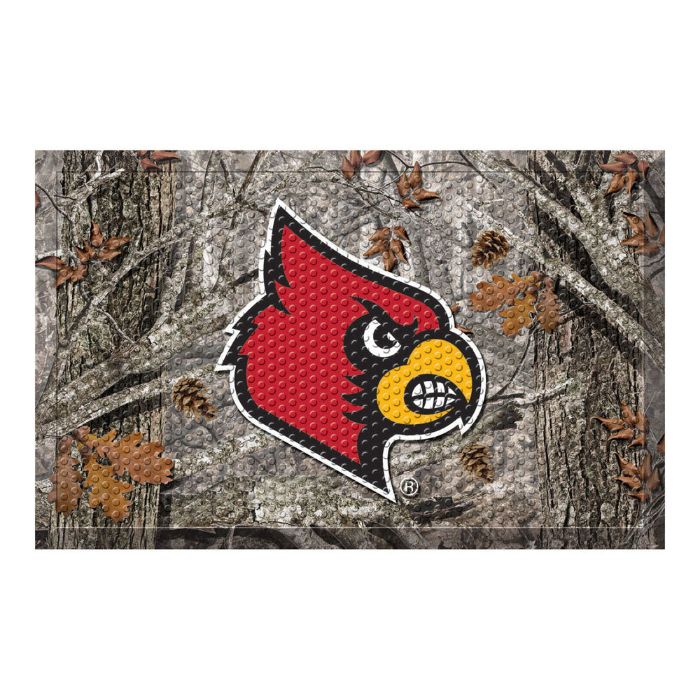 Louisville Cardinals Camo Entry Floor Mat