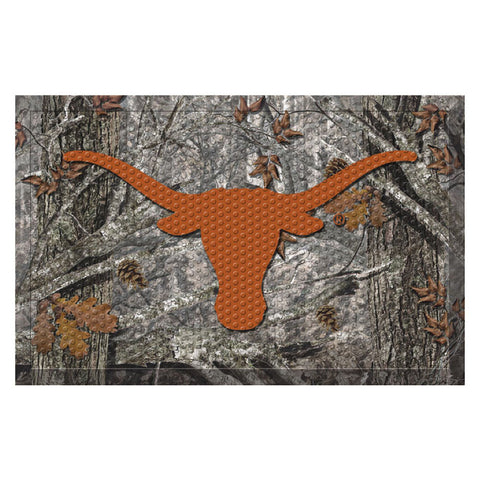 Texas Longhorns Camo Entry Floor Mat
