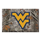 West Virginia Mountaineers Camo Entry Floor Mat