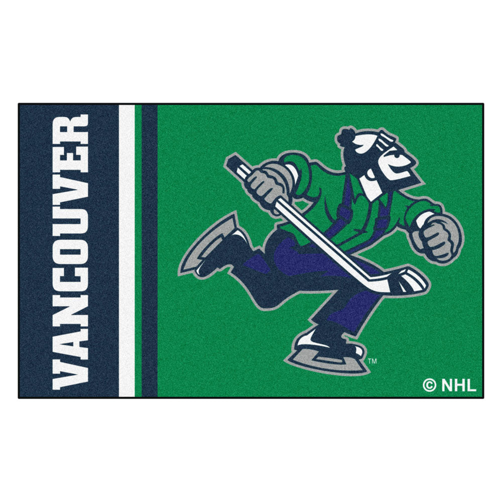 Vancouver Canucks Team Logo Accent Rug
