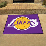 Los Angeles Lakers Tufted Area Rug Allstar Rug