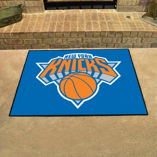 New York Knicks Tufted Area Rug Allstar Rug