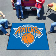 New York Knicks Tufted Area Rug Tailgater Rug