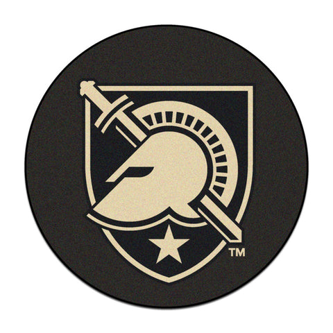 Army Black Knights Hockey Puck Area Rug