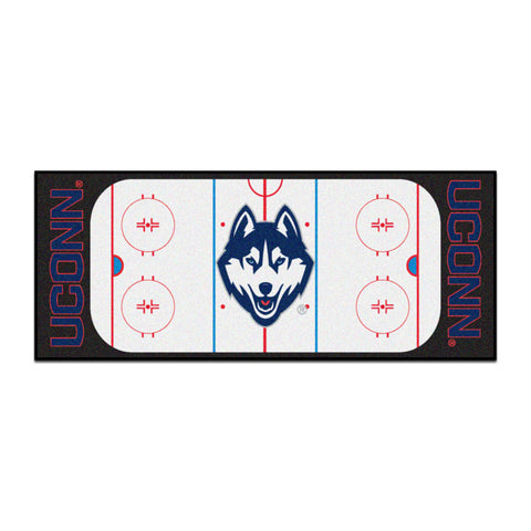 UConn Huskies Hockey Rink Runner Rug