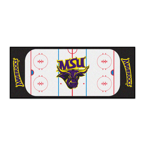 Minnesota State Mavericks Hockey Rink Runner Rug