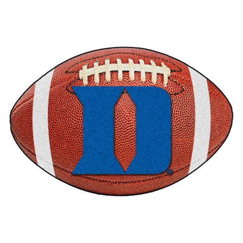 Duke Blue Devils Touchdown Football Area Rug
