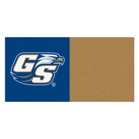 Georgia Southern Eagles Blue/Gold Team Proud Carpet Tiles