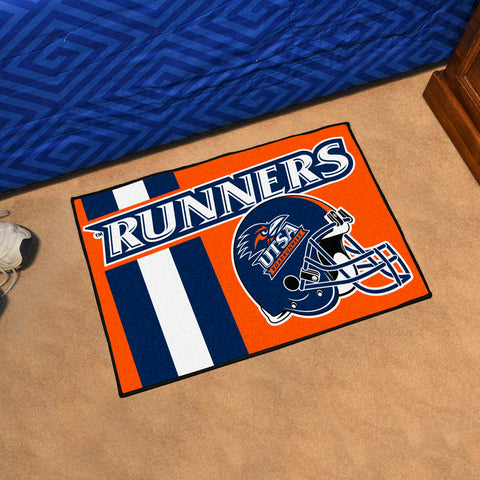Texas San Antonio Roadrunners Team Helmet Accent Rug