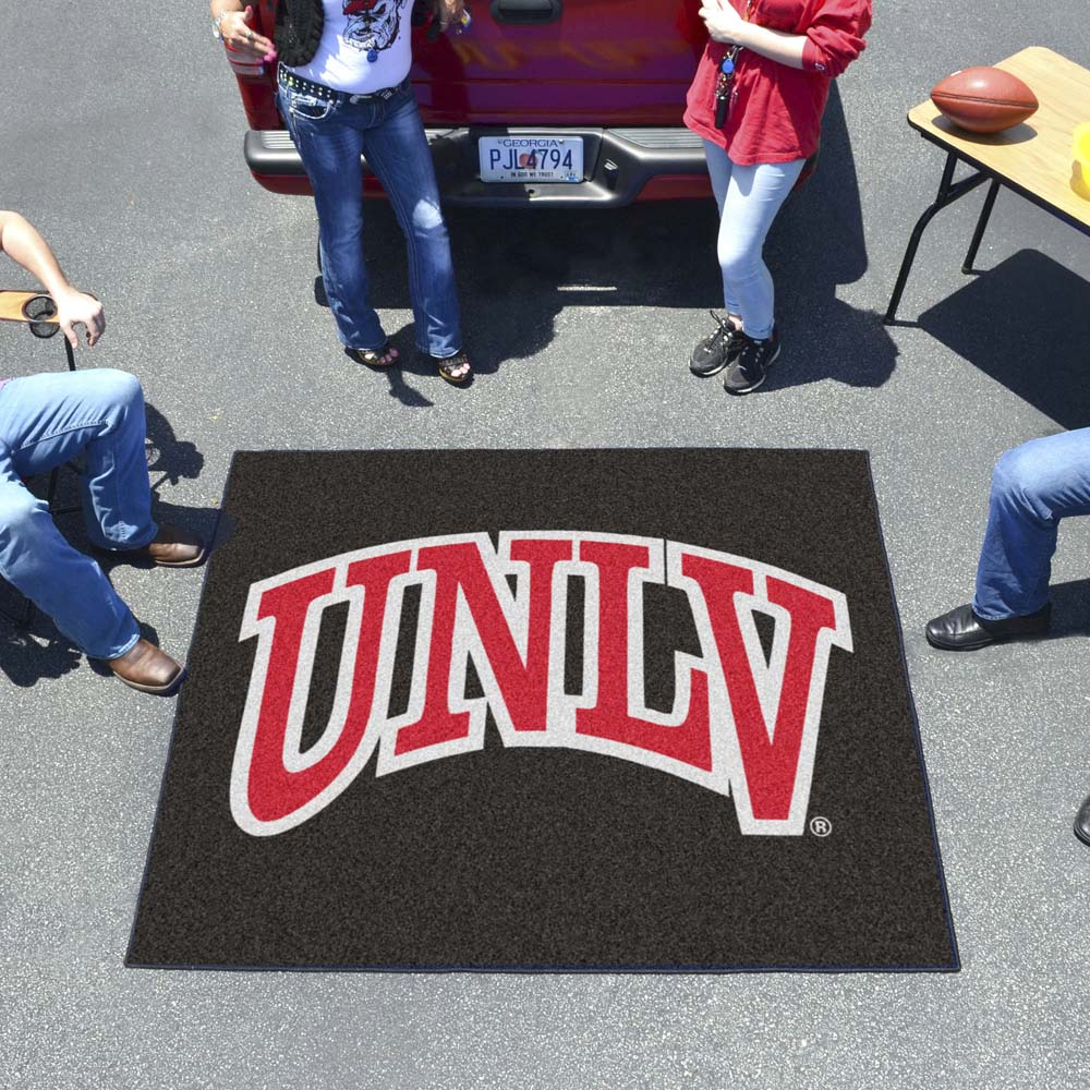 UNLV Rebels Tufted Area Rug Tailgater Rug