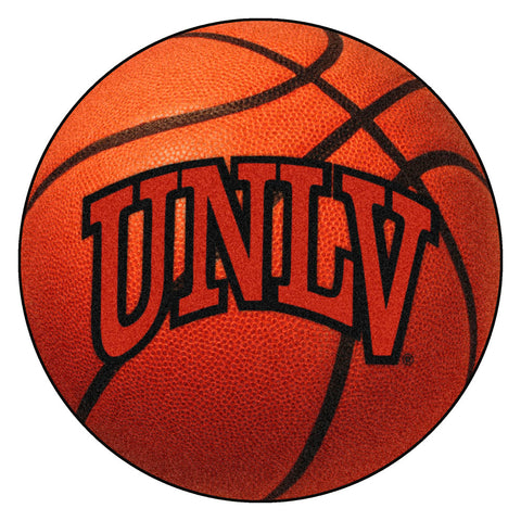 UNLV Rebels Basketball Area Rug