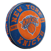 Decorative New York Knicks Cloud To Go Pillow Front