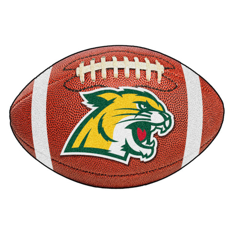 Northern Michigan Wildcats Touchdown Football Area Rug