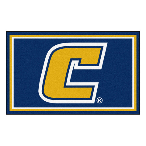 Tennessee-Chattanooga Mocs Ultra Plush Area Rug 4x6