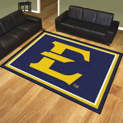 East Tennessee State Buccaneers 8x10 Plush Area Rug