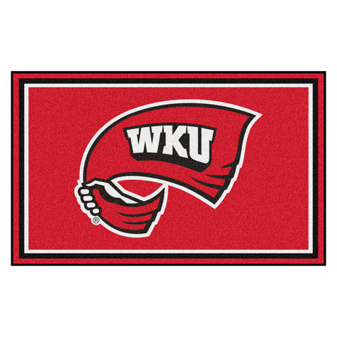 Western Kentucky Hilltoppers Ultra Plush Area Rug 4x6