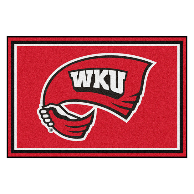 Western Kentucky Hilltoppers Ultra Plush Area Rug 5x8