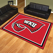 Western Kentucky Hilltoppers 8x10 Plush Area Rug