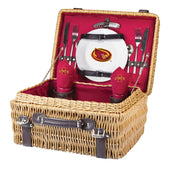Iowa State Cyclones Picnic Basket for 2 in Red