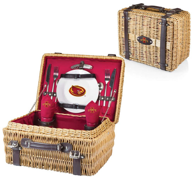 Iowa State Cyclones Picnic Basket for 2