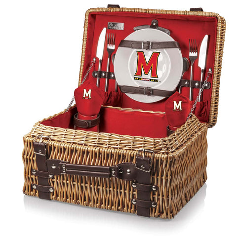 Maryland Chiefs Red Picnic Basket for 2