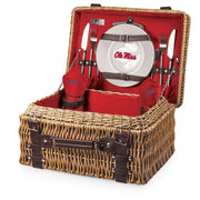Ole Miss Rebels Picnic Basket for 2 - Team Sports Gift
