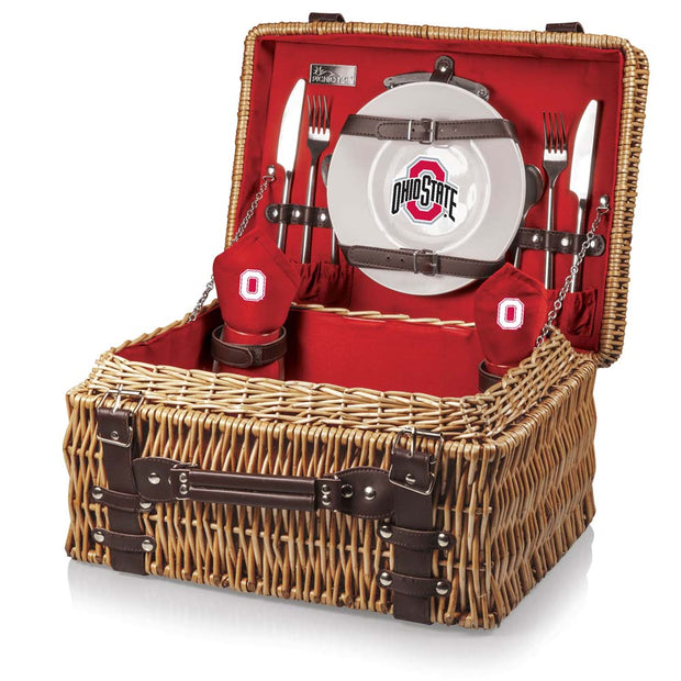 Ohio State Buckeyes Picnic Basket for 2 - Team Sports Gift
