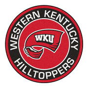 Western Kentucky Hilltoppers Team Emblem Throw Rug