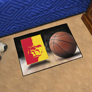 Pittsburg State Gorillas Basketball Area Rug