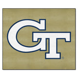 Georgia Tech Yellow Jackets Gold Tufted Area Rug