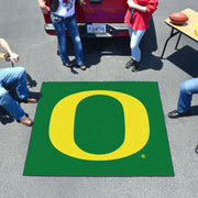 Oregon Ducks Tufted Area Rug Tailgater Rug