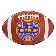 National Champions LSU Tigers Football Area Rug
