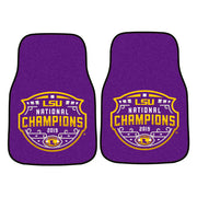 LSU Tigers National Football Championship Floor Mat Set